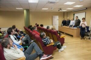 Camargo recibe a los trabajadores que se incorporan a la plantilla municipal procedentes del desempleo