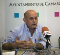El concejal de Medio Ambiente, Ricardo Amigo