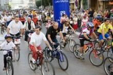 Participantes del Día de la Bicicleta