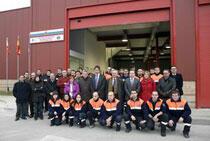 Inauguración de la nueva sede de Protección Civil