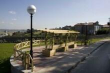 Mirador situado en la calle Santa Teresa del Alto Maliaño