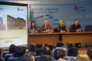 Finalizan las jornadas de orientación laboral dirigidas a alumnos de Formación Profesional de Camargo