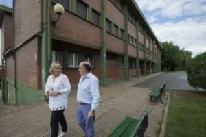 Trabajos de mantenimiento en los centros escolares ubicados en el municipio