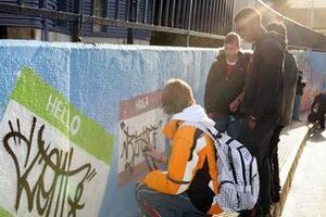 Participantes en la primera edición de Operación Graffiti