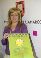 La concejala de Colaboración Intergeneracional, Mayores, Infancia y Juventud, Ana Haya