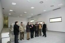 El alcalde de Camargo, Angel Duque, y el primer teniente de alcalde, Carlos González, supervisaron los últimos remates del nuevo Centro Cultural de Igollo y de la reforma y ampliación del Centro Cultural El Torreón de Herrera