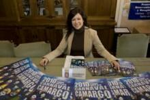 La concejala de Cultura y Festejos del Ayuntamiento de Camargo, Jennifer Gomez.