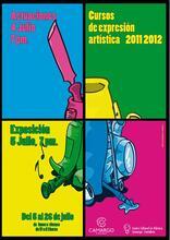 EXPOSICIÓN FIN DE CURSO TALLERES EXPRESIÓN ARTÍSTICA CENTRO CULTURAL LA VIDRIERA 2011/2012