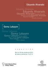 EDUARDO ALVARADO (pintura) y GEMA LABAYEN (escultura)