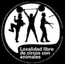 Localidad Libre de circos sin animales