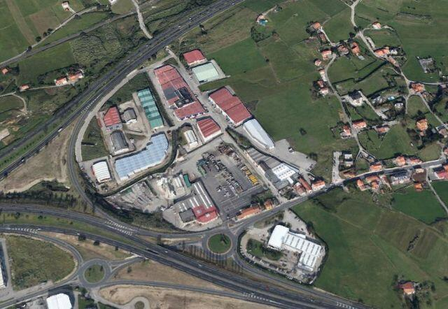 Vista aérea del Polígono de Otero